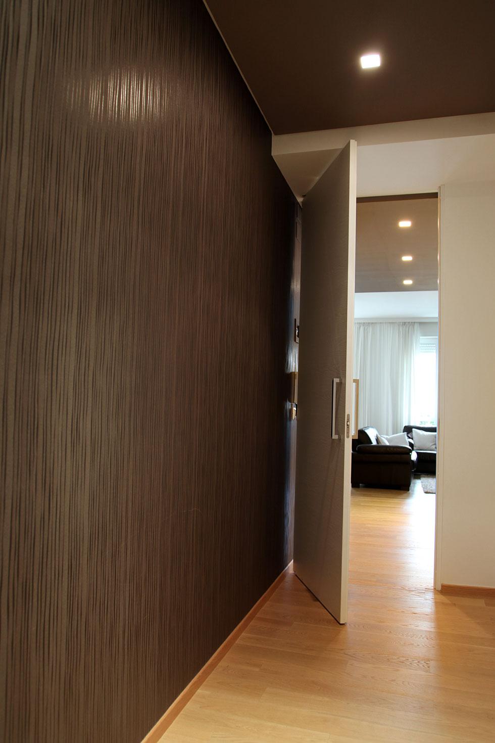 Arche 39 ambienti porta battente tutt altezza laccato bianco - Porte scorrevoli tutta altezza ...